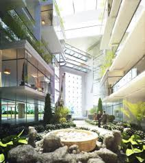 100 Atrium Architects Chase Bank HQ Riverside Architecture By Beglin Woods