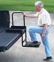 Truck'n Buddy Pickup Tailgate Step - $179.00 Do You Have A Flatbed ... Best Steps Save Your Knees Climbing In Truck Bed Welcome To Replacing A Tailgate On Ford F150 16 042014 65ft Bed Dualliner Liner Without Factory 3 Reasons The Equals Family Fashion And Fun Local Mom Livingstep Truck Step Youtube Gm Patents Large Folddown Is It Too Complex Or Ez Step Tailgate 12 Ton Cargo Unloader Inside Latest And Most Heated Battle In Pickup Trucks Multipro By Gmc Quirk Cars Bedstep Amp Research