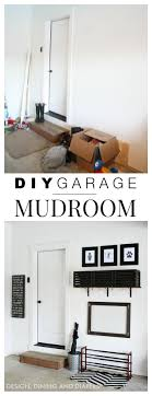DIY Simple Garage Mudroom Pinterest