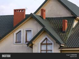 100 Modern Stucco House Top Big Image Photo Free Trial Bigstock