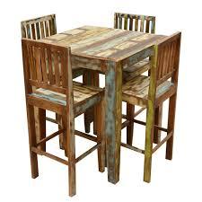 4 Rustic Pub Table Sets, Linon Home Decor Betty 3 Piece ...
