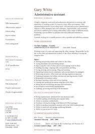 Sle Resume For Administrative Assistant Australia