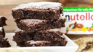 und rezept nutella brownies aus nur 3 zutaten club