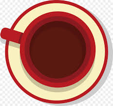 Coffee Cup Cafe Red Clip Art