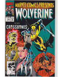 Wolverine Marvel Comics Presents 129 With Lynx And Crossbones Ghost Rider Typhoid Mary
