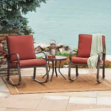 Patio Furniture And Decor | Benson Lumber & Hardware The Gripper 2piece Delightfill Rocking Chair Cushion Set Patio Festival Metal Outdoor With Beige Cushions 2pack Fniture Add Comfort And Style To Your Favorite Nuna Wood W Of 2 By Christopher Knight Home Details About Klear Vu Easy Care Piece Maracay Head Java Wicker Enstver Bistro 2piece Seating With Thickened Blue And Brown Amish Bentwood Rocking Chair Augustinathetfordco Splendid Comfortable Chairs Nursing Wooden Luxury Review Phi Villa 3piece