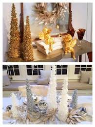 Set Of 3 Sequined And Glittered Icicle Trees