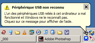 imprimante impossible à installer usb non reconnu