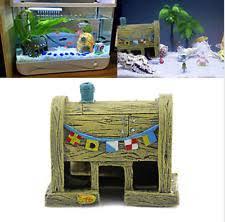 Spongebob Aquarium Decorating Kit by Spongebob Fish Tank Ebay