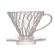 Hario VD 01T 1 Piece Plastic Coffee Dripper Clear