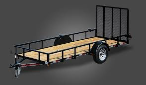 2990 GVWR REGULAR Single Axle Utility Trailer