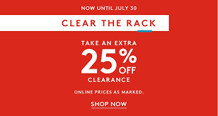 Nordstrom Rack Extra  off Southern Savers