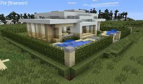 maison de luxe minecraft modèle maison moderne en bois minecraft