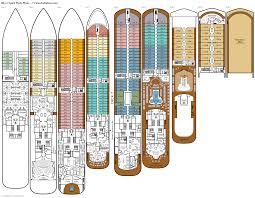 Azamara Journey Deck Plan 2017 by Silver Spirit Deck Plans Diagrams Pictures Video