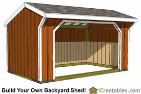 Saltbox Shed Plans 12x16 by 12x16 Run In Shed Plans With Wood Foundation