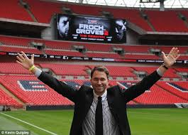 The Biggest Stage Promoter Eddie Hearn At Wembley To Announce Froch V Groves Rematch