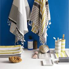 Yellow And Gray Bathroom Accessories by Navy Blue And Yellow Bathroom Decorating Clear