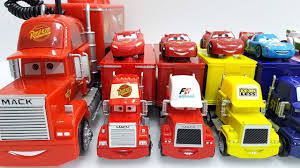 Disney Pixar Mack Truck Disney Cars Lightning Mcqueen Mack Truck ...