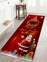 weich badezimmer weihnachten badematte boden teppich