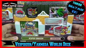 pokemon cards 2016 world chionships yanmega vespiquen deck