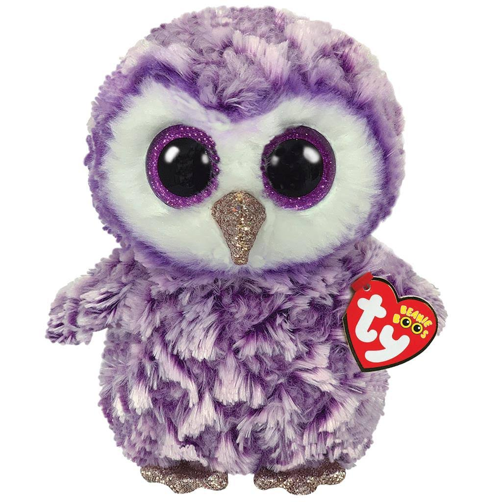 Ty Beanie Boos Moonlight - Owl Medium