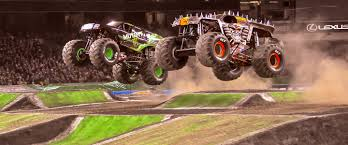 100 Monster Truck Backflip Jam 101 Jam