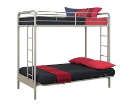 Bunk Bed Over Futon by Amazon Com Dorel Home Products Twin Over Full Futon Bunk Bed