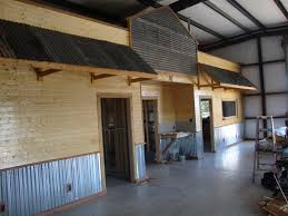 Barndominium Floor Plans 30x50 by Texas Rustic Kitchen Ideas How Did You Trim Your Corrugated