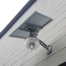 wall mount led solar security light eledlights