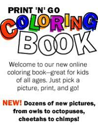 Welcome To Our New Online Coloring Book Great For Kids Of All Ages