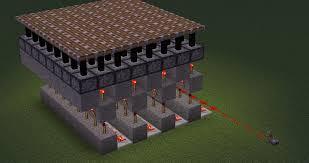 Pumpkin Farm Minecraft Observer by Easy Way To Power Platforms Of Pistons Minecraft