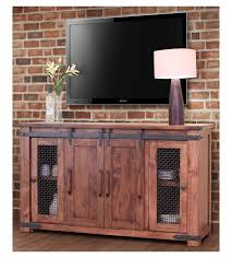 Epic Rustic TV Stand 75 With Additional Interior Decor Home