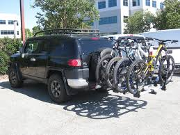 Bike Rack - Toyota FJ Cruiser Forum Bike Racks Bicycle Carriers Trunk Hitch Tire Hollywood Rack For 5 Fat Tires Mtbrcom Cascade Rack Kuat Pivot Mount Swing Away 4bike Universal Truck By Apex Discount Ramps Cap World Sampling The Yakima Fullswing Hitchmounted Bicycle Hooniverse Receiver For Reviews Genuine Freedom Car Saris Attack Bostons Blog Amazoncom Allen Sports Premier Mounted 5bike Carrier Best Hitch Mount 4 Bike Thule Helium Aero 3bike Evo