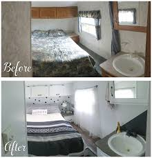Before And After Pictures Of A Rv Bedroom Renovation