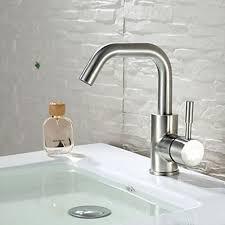 steel one handle bathroom sink basin faucet mixer kitchen tap