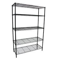 5 Shelf 36 In W X 16 L 72