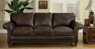 Elegant Distressed Brown Leather Couch 36 About Remodel Sofas and
