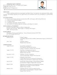 Resume Interest Examples Example Good Hobbies For Section