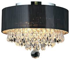 Large Black Drum Chandelier Ceiling Light Shade Org Fake Chandeliers For Bedrooms