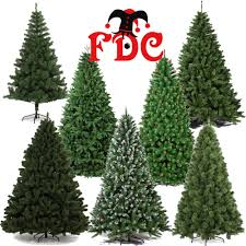 8ft Christmas Trees Artificial Ireland by Artificial Luxury Christmas Xmas Trees Assorted Styles 1 8m 6ft
