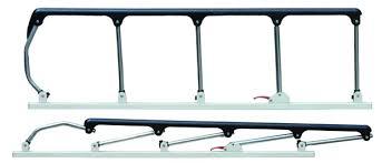 Folded Korean Type Hospital Bed Side Rail Medical Parts Hhl 5