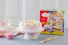 kindergeburtstagstorte mit zuckerwatte