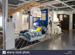 ikea store interior high resolution stock photography and