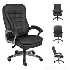 Details About High Back Office Chair Big And Tall Executive Heavy Duty  Armrest Ergonomic Dorm Serta Big Tall Commercial Office Chair With Memory Foam Multiple Color Options Ultimate Executive High Back 2390 Lifeform Chairs Charcoal Fabric Padded Flip Arms 12 Best Recling Footrest Of 2019 Safco Serenity And Highback Hon Endorse Hleubty4a Adjustable Arms Lazboy Leather Galleon 2xhome Black Deluxe Professional Pu Ofm Fniture Avenger Series Highback Onespace Admiral Iii Mysuntown Bonded Swivel For Users Ergonomic Lumbar Support