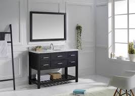 46 Inch White Bathroom Vanity by Bathrooms Design Bathroom Vanity Wyndham Collection Murano Inch