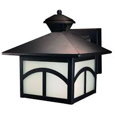 heath zenith 180 degree rubbed bronze motion activated