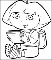 Dora Coloring Sheets Printable
