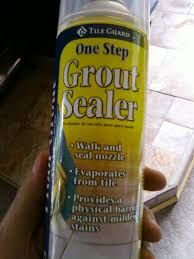 Homax Tile Guard Grout Sealer by Lowes Tile Guard One Step Spray Sealer For Grout Is It Safe