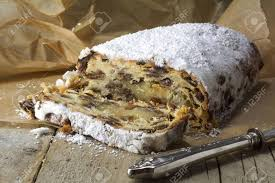 Christmas Stollen Traditional German Cake For Advent And