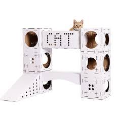 cadeau chat une maison de jeu pour chat